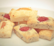 Financiers aux fruits rouges