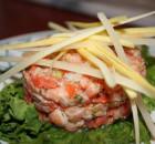 Tartare de saumon écossais à la coriandre