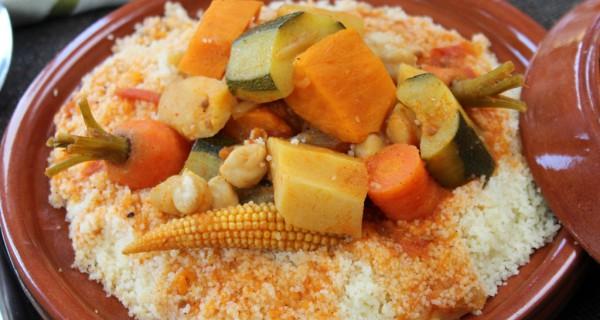 Couscous aux légumes d'hiver